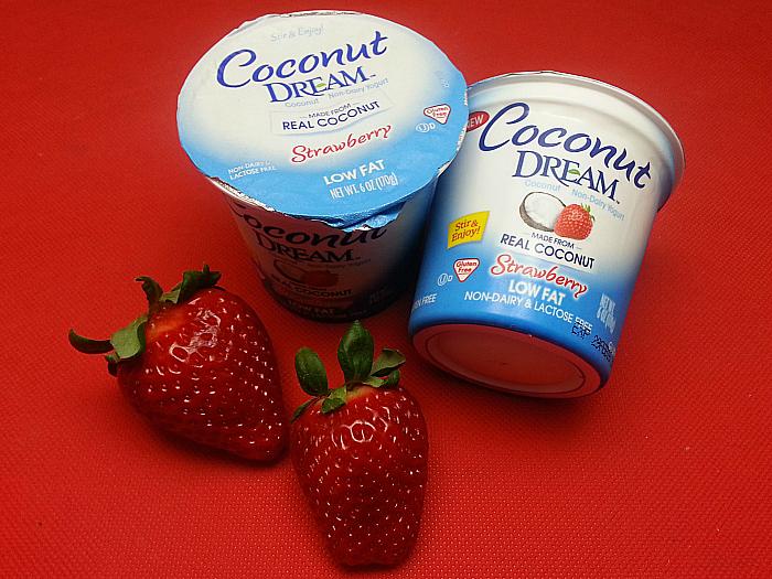 Coconut Dream Strawberry Non-dairy Yogurt