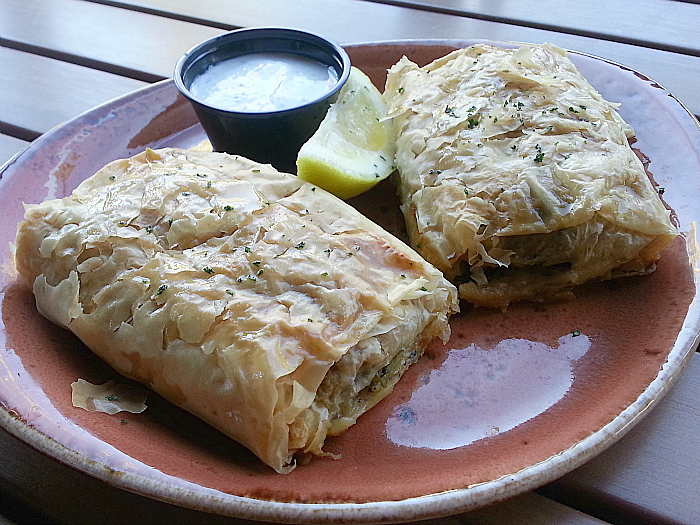 Spinach Pies at Luna Grill - Dana Point, California