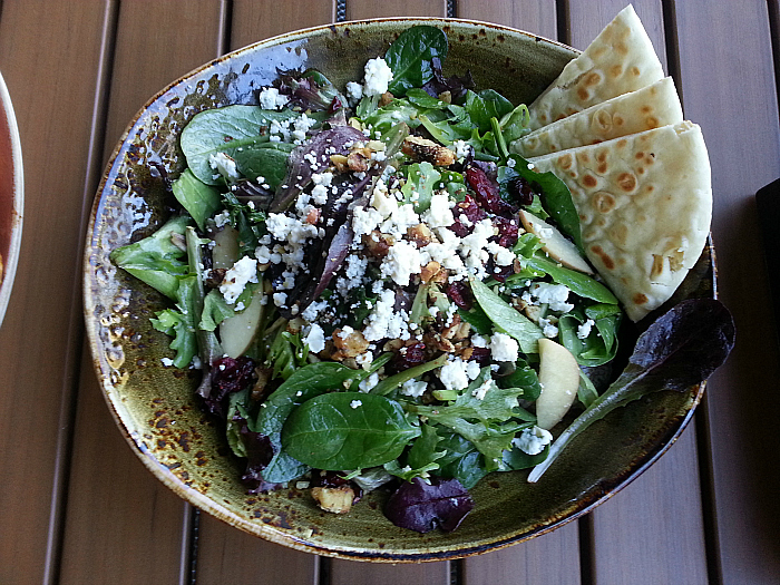 Salad at Luna Grill - Dana Point, California