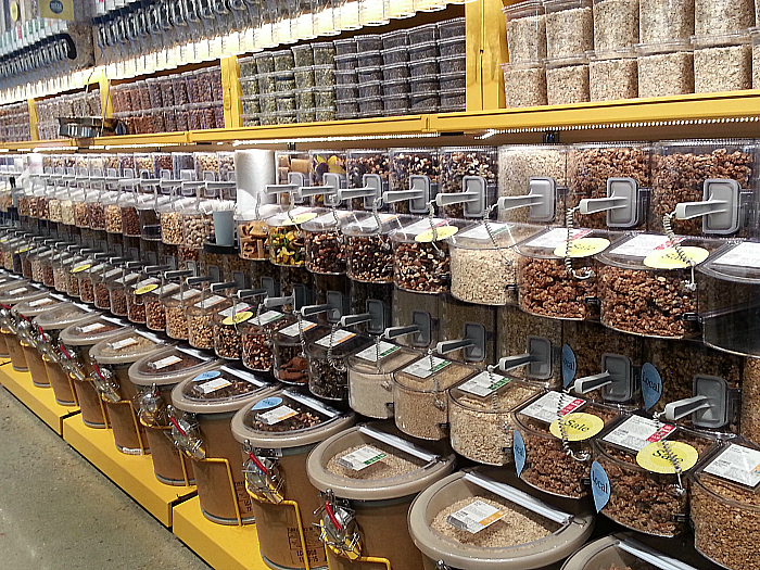 Bulk Foods at Whole Foods Market - Brea, California