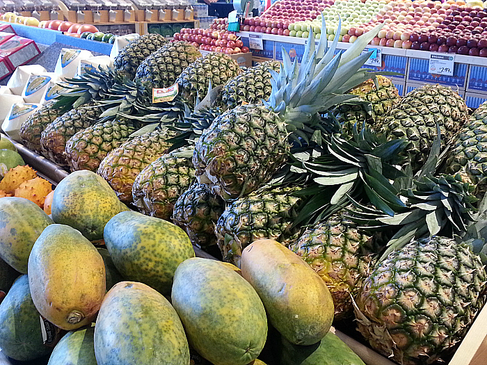 Tropical Fruit at Whole Foods Market - Brea, California