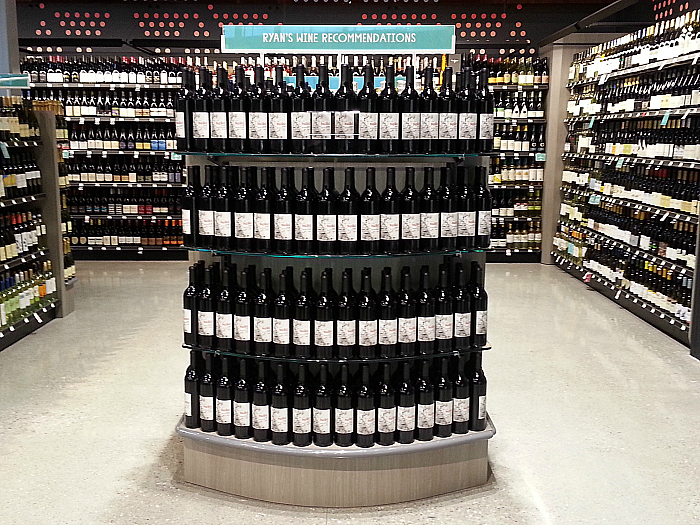 Wine at Whole Foods Market - Brea, California