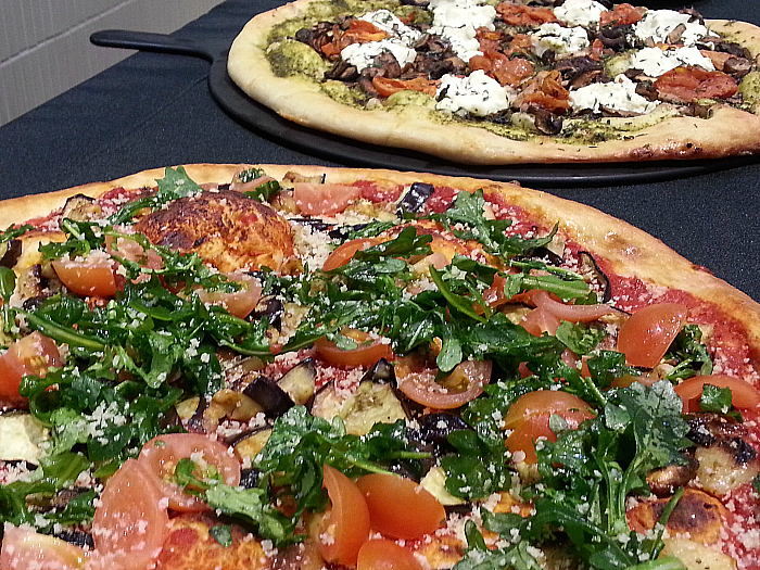Pizza at Whole Foods Market - Brea, California