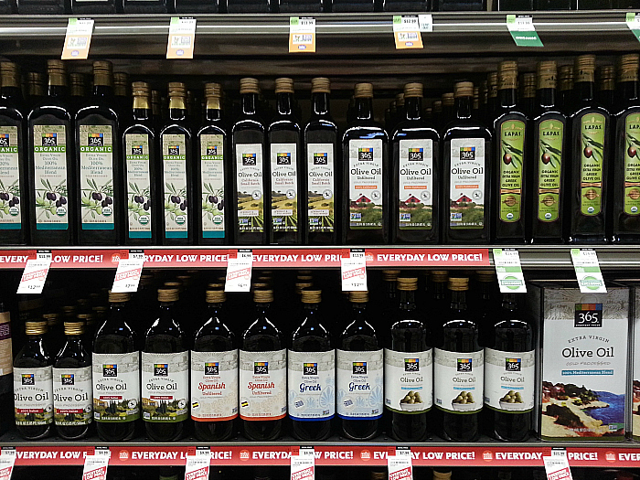365 Brand Olive Oil at Whole Foods Market - Brea, California
