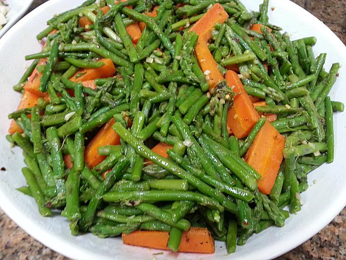 Asparagus and Carrots