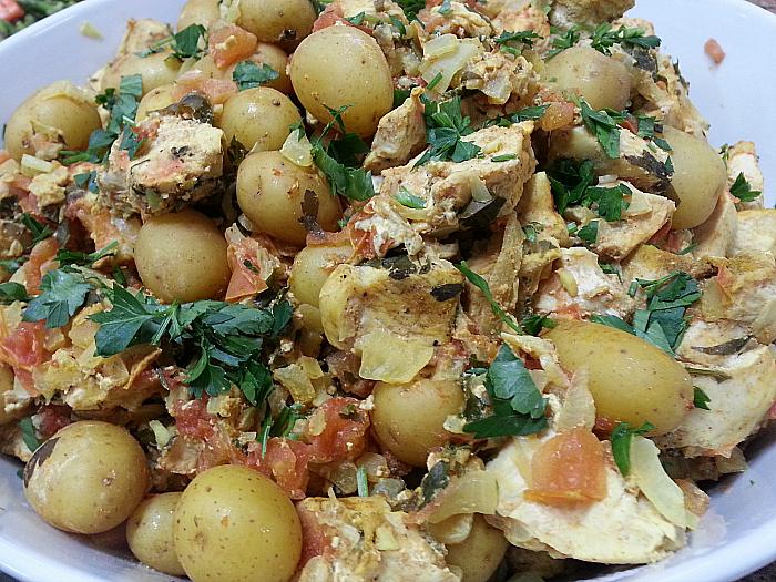 Yemenite Chicken Casserole
