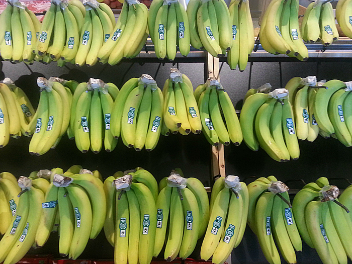 Bananas at Whole Foods Market Los Olivos Marketplace - Irvine, California