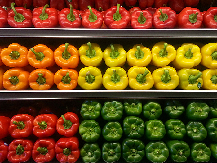 Peppers at Whole Foods Market Los Olivos Marketplace - Irvine, California