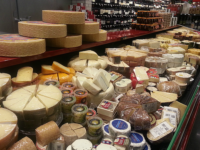 Cheese at Whole Foods Market Los Olivos Marketplace - Irvine, California