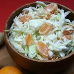 Greek Yogurt Tangerine Coleslaw
