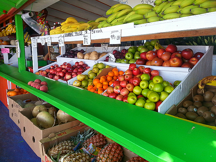 Farm Stand on Hueneme Road in Oxnard, California