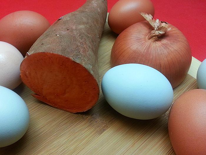 Sweet Potato Eggs