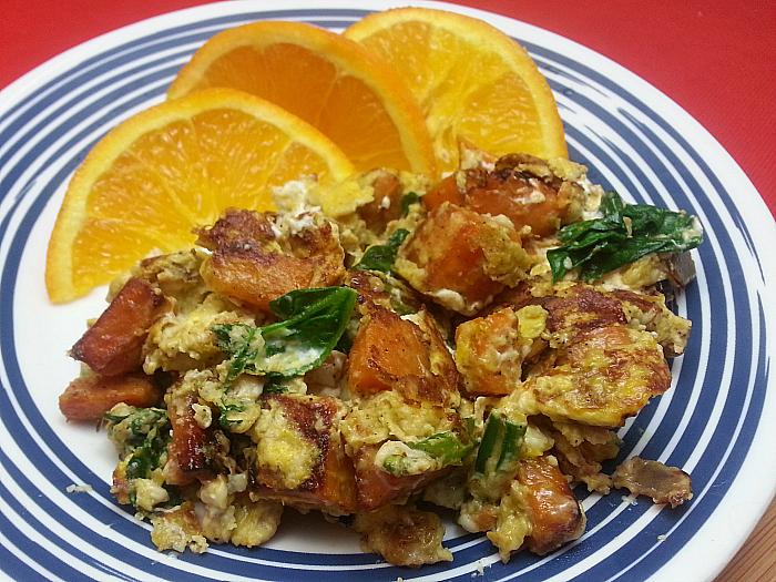Sweet Potato Eggs Skillet Meal