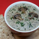 Vegetarian Cream of Mushroom Soup Recipe