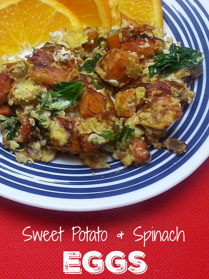Vegetarian Sweet Potato Eggs Skillet Meal Recipe
