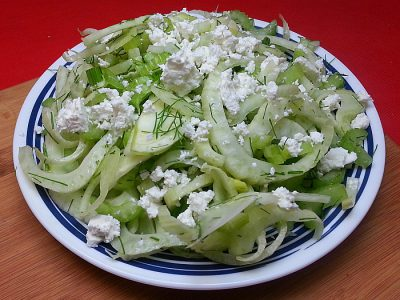 Fennel and Feta Cheese Salad