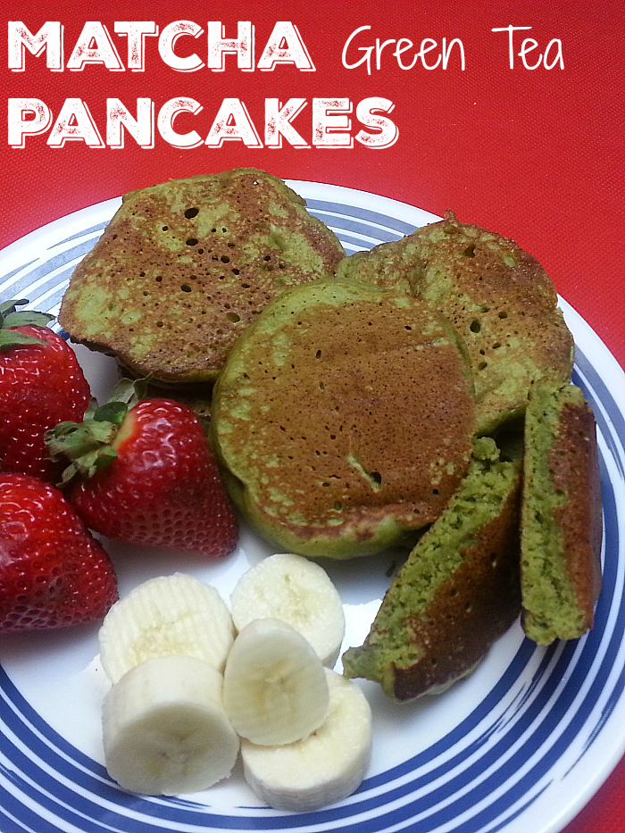 Easy Green Tea Matcha Pancakes Recipe