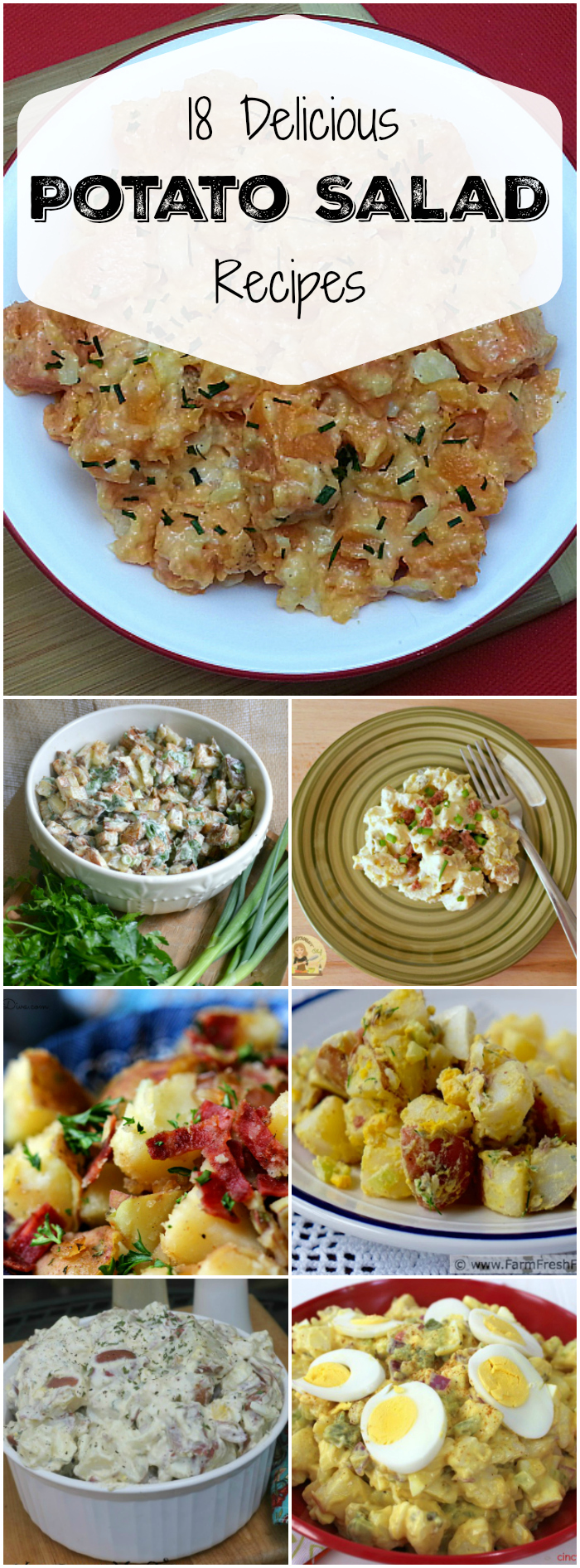 18 Delicious Potato Salad Recipes - Food Blogger Recipe Round Up