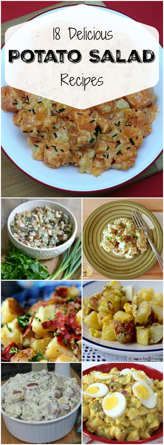 18 Delicious Potato Salad Recipes