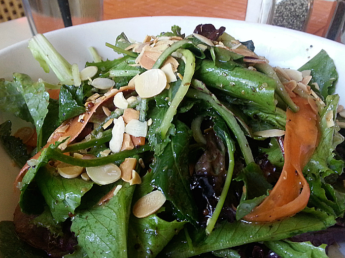 Salad at Icon Restaurant - South Beach, Florida