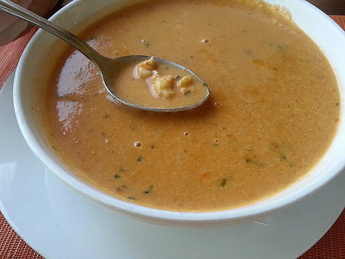Soup at Icon Restaurant - South Beach, Florida
