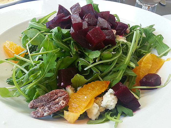 Beet Salad at Kaiser Grille - Palm Springs, California