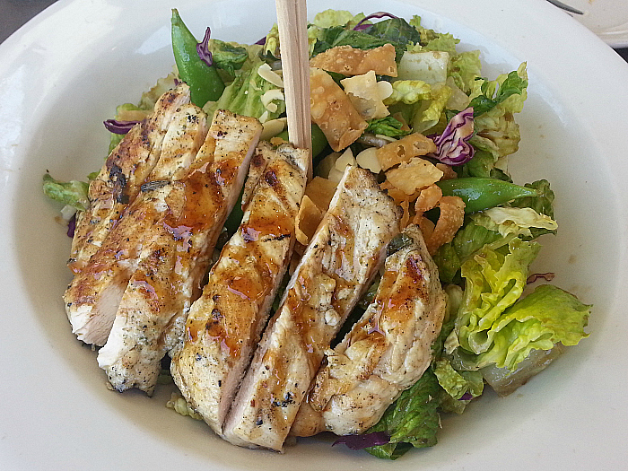 Chicken Salad at Kaiser Grille - Palm Springs, California