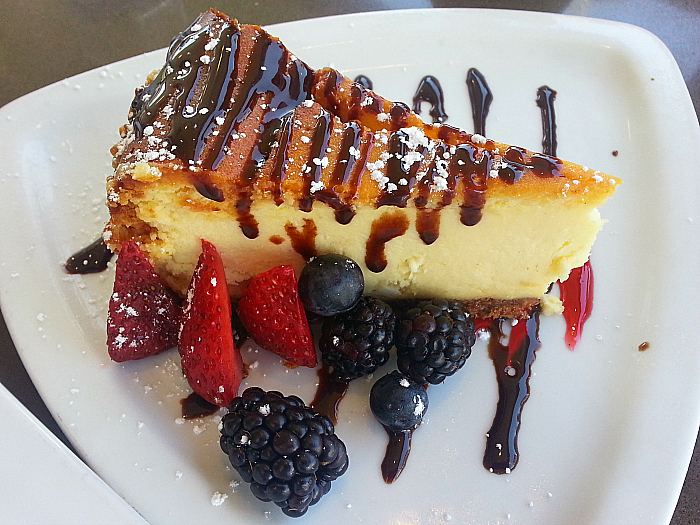 Cheesecake at Kaiser Grille - Palm Springs, California