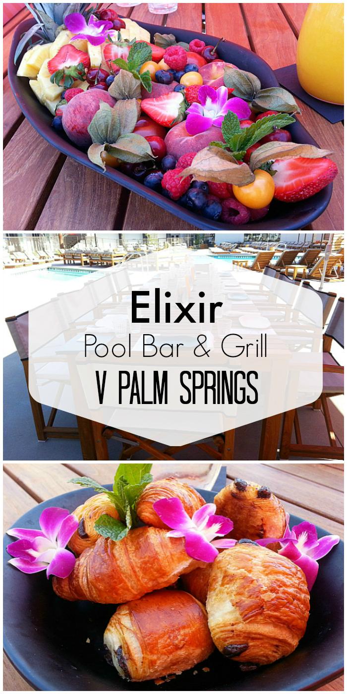 Elixir Pool Bar & Grill at V Palm Springs