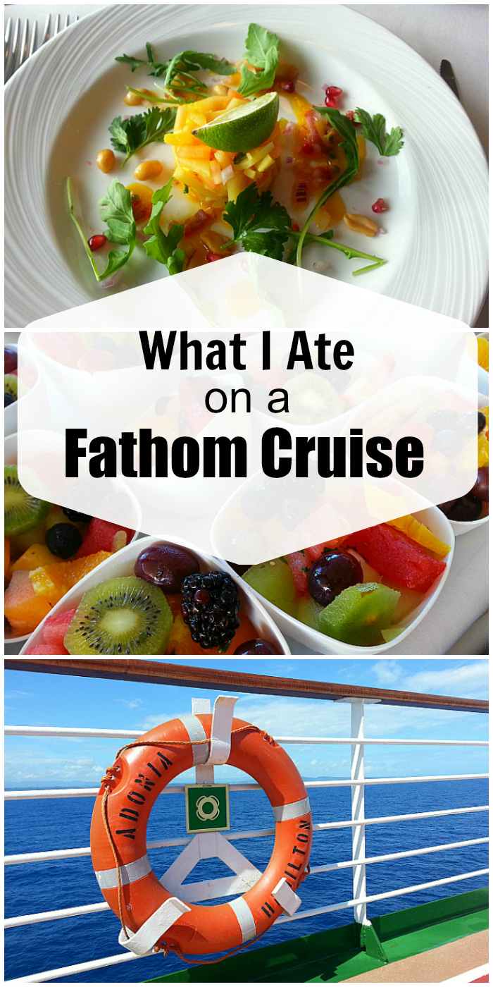 Dominican Republic Cruise Food