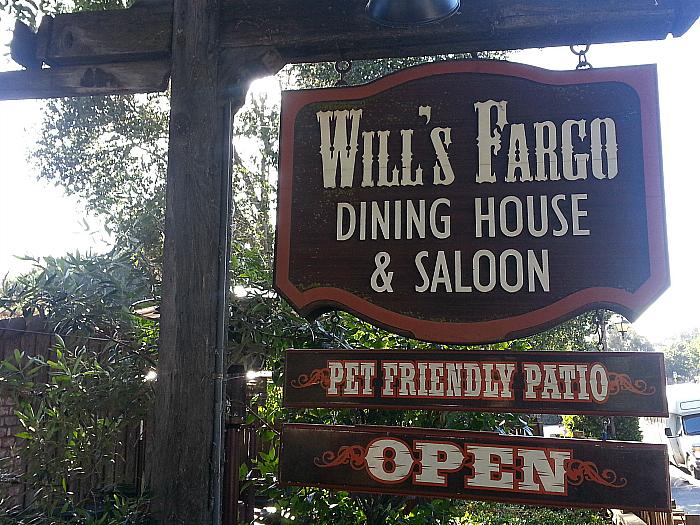 Will's Fargo Dining House and Saloon - Carmel Valley, California