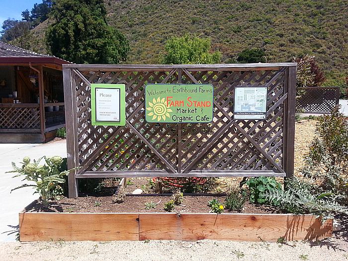 Earthbound Farm's Farm Stand and Organic Cafe - Carmel, California