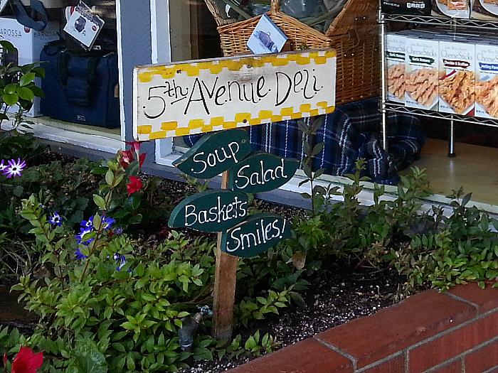 5th Avenue Deli - Carmel by The Sea, California