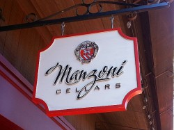 Manzoni Cellars Tasting Room - Carmel by The Sea, California
