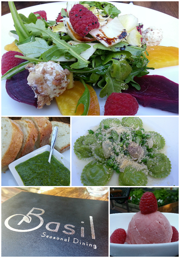 Basil Seasonal Dining - Carmel by The Sea, California