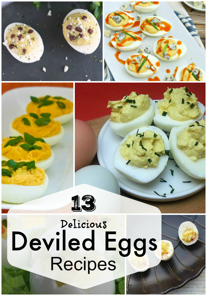 13 Deviled Eggs Recipes for Picnics and Parties