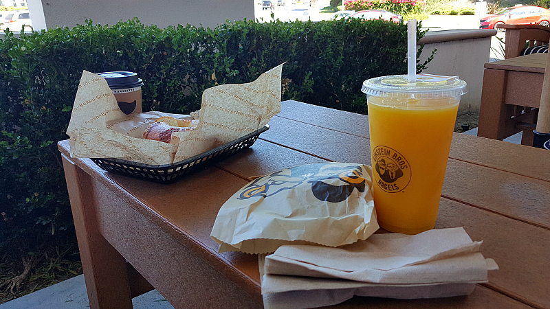 Einstein Bagels Newport Beach