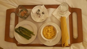 Room Service at the Long Beach Marriott