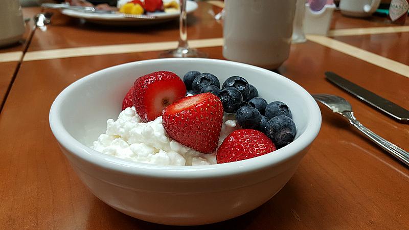 Long Beach Marriott Breakfast Buffet
