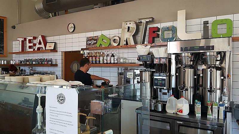Portfolio Coffeehouse in Long Beach