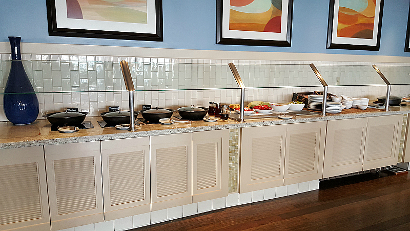 Current Breakfast Buffet at Coronado Island Marriott
