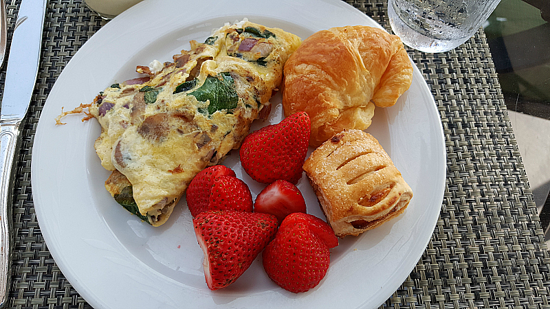 Coronado Island Marriott Breakfast Buffet
