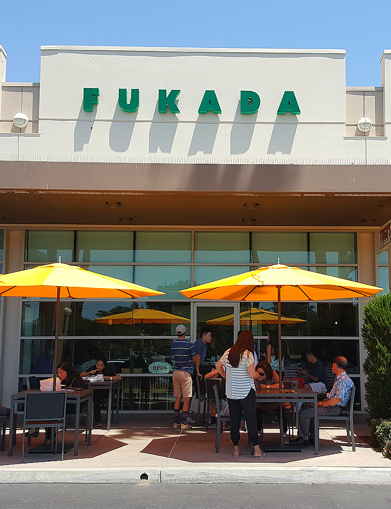 Fukada Japanese Restaurant in Irvine, California