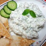Labne Cucumber Mint Dip Recipe