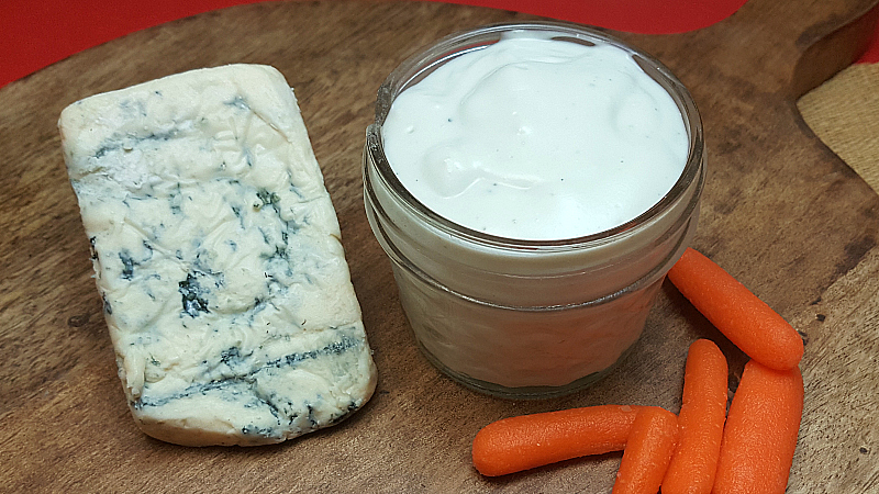 Easy Blue Cheese Dressing (No Mayo!)