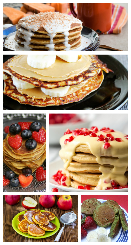 Pancake Recipe Round Up - Over 60 food blogger pancake recipes
