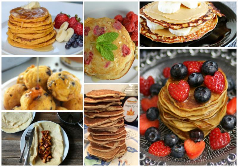 Pancakes Pancakes Pancakes ! 60+ Fantastic Pancake Recipes !