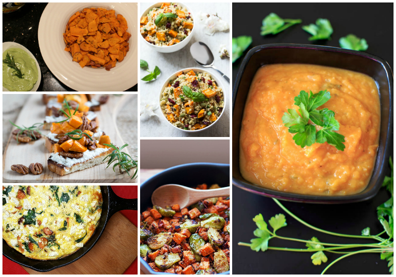 20+ Savory Sweet Potato Recipes