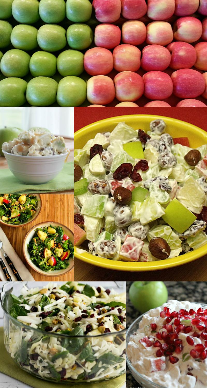 14 Tasty Apple Salad Recipes - Food blogger recipe round up