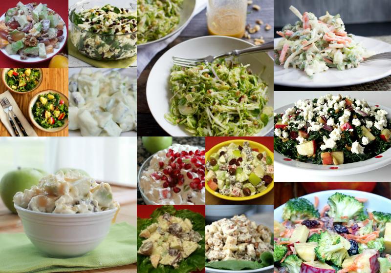 14 Tasty Apple Salad Recipes